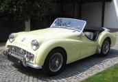 <h5>Triumph TR3 B</h5><p>Bj. 1962, 2.138 ccm, 130 PS</p>