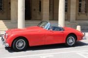 <h5>Jaguar XK 150 OTS Roadster</h5><p>Bj. 1958, 3.400 ccm, 210 PS</p>