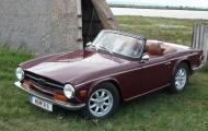 <h5>Triumph TR6</h5><p>Bj. 1971, 2.498 ccm, 124 PS Frame-off-Restauration</p>