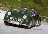 """<h5>Triumph TR3 """"Smallmouth""""</h5><p>Bj. 1957, 2.136 ccm, 120 PS</p>"""