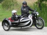 <h5>BMW R 60/2 + Felber Beiwagen</h5><p>Bj. 1962   , 590 ccm,   30 PS Fahrschulmotorad mit Pedalen für den Fahrlehrer im Beiwagen </p>