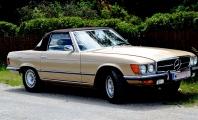 <h5>Mercedes 350 SL</h5><p>Bj. 1971, 3.499 ccm, 200 PS</p>