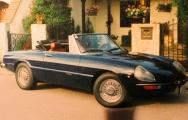 <h5>Alfa Romeo Spider Junior</h5><p>Bj. 1977, 1570 ccm, 109 Ps Fahrgestell Nr. 1731</p>