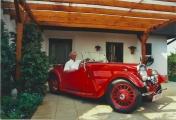 <h5>BSA Scout Serie 5</h5><p>Bj.1938,1203 ccm,32 PS,  Vorderrad  Antrieb Chasssie Nr. 1546</p>