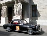 <h5>Mercedes  220  S Coupe</h5><p>Bj. 1955, 2195 ccm, 100 PS</p>