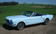 <h5>Ford Mustang Cabrio</h5><p>Bj.1965, 223 Ps, 4795 ccm</p>