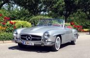 <h5>Mercedes  190 SL</h5><p>Bj. 1956,1897 ccm,105 PS</p>