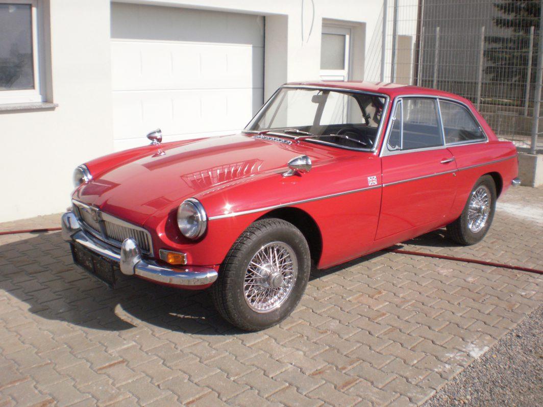 MG B GT Bj. 1966, 1798 ccm, 95 PS