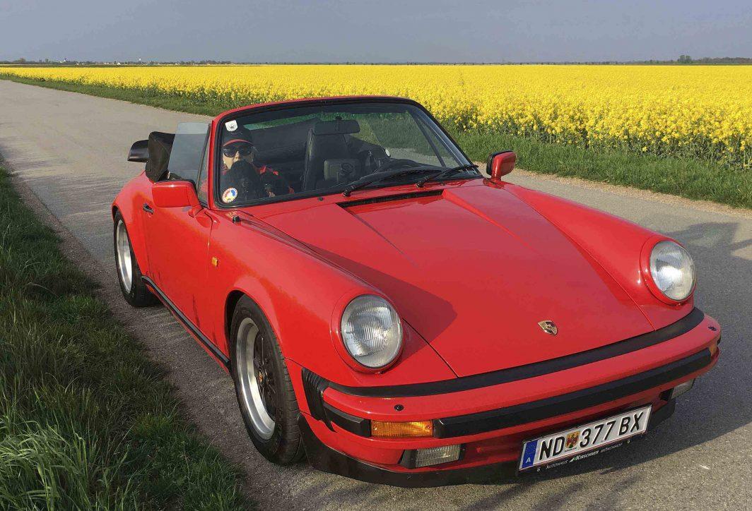 Porsche 911 cabrio  Bj.1987, 3164 ccm, 231 PS