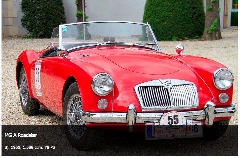 MG A Bj. 1960, 1588 ccm, 78 PS