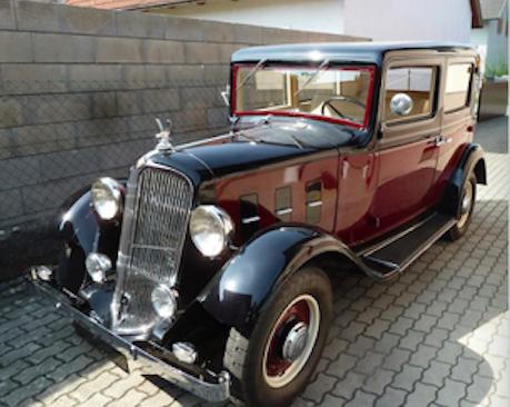 Renault Manaquarte YN2  Bj.1933, 1500 ccm, 30 PS