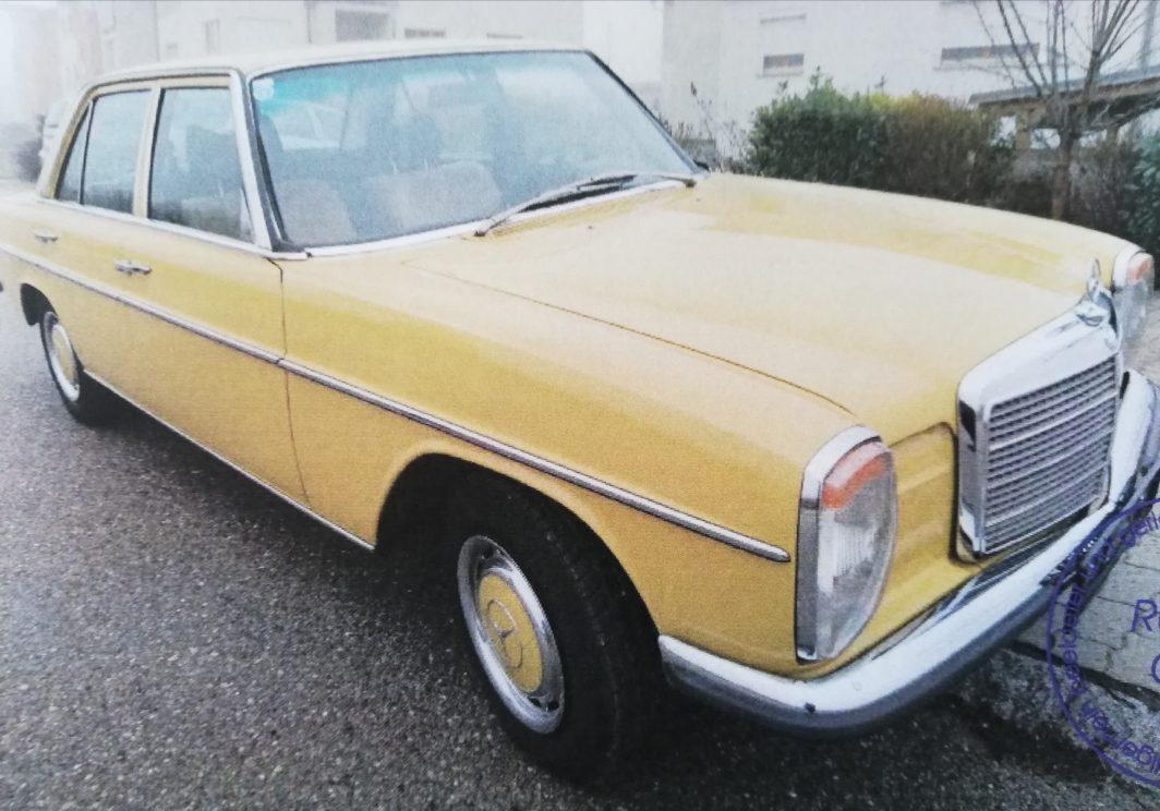 220 D Bj. 1975, 2200 ccm, 60 PS,  seit 75 im Familienbesitz