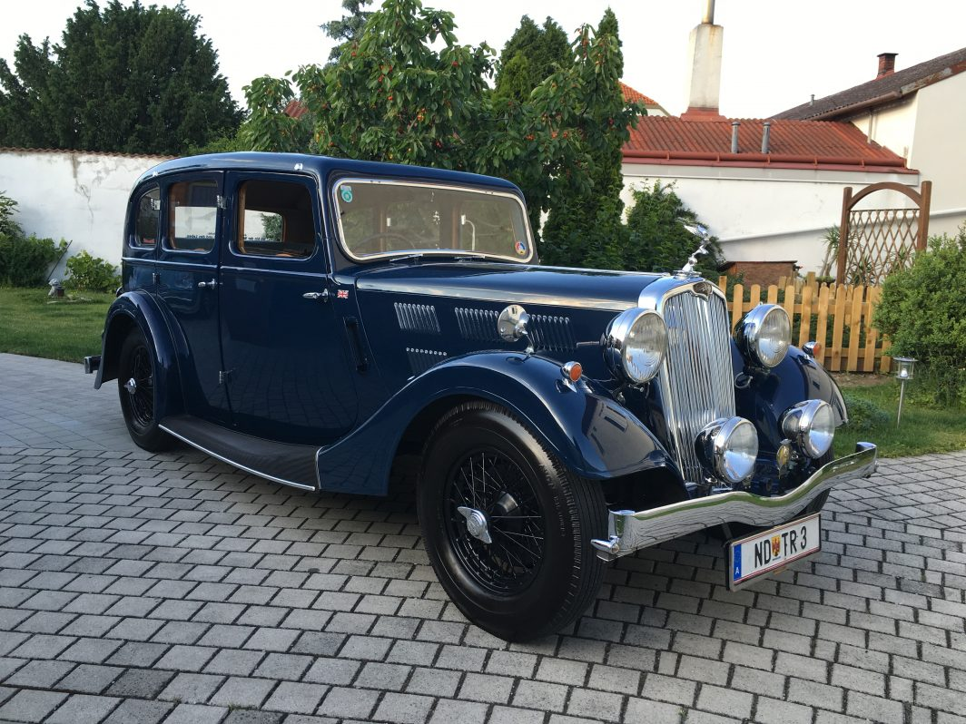 Triumph Vitesse 14/60 Light Sport Saloon Bj 1936, 1761 ccm, 63 PS