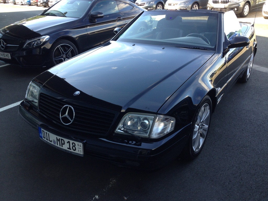 Mercedes 320 SL Bj. 1999, 3199 ccm, 224 PS